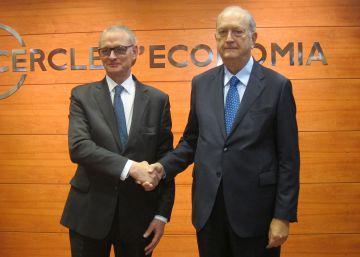 Brugera asume la presidencia del Círculo de Economía apelando al pacto