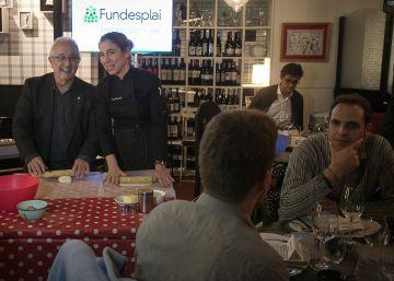 Un sopar solidari recapta 10.000 euros per a beques menjador