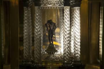 Una de las reliquias de la Encarnación.