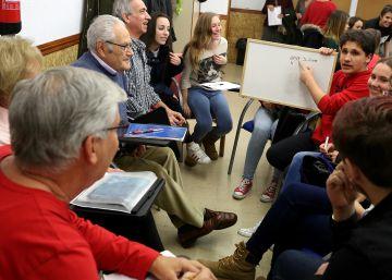 Los mayores también quieren aprender inglés