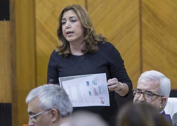 """Díaz anuncia un plan para """"dar estabilidad"""" a 15.000 eventuales del SAS"""