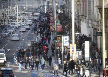El refuerzo del metro por el corte de Gran Vía ha costado 9,5 millones