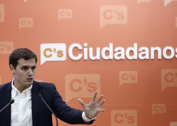 Rivera reivindica que gracias a Ciudadanos no hay hoy elecciones