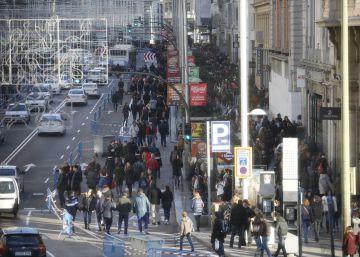 Un foro de empresarios pide peatonalizar la Gran Vía
