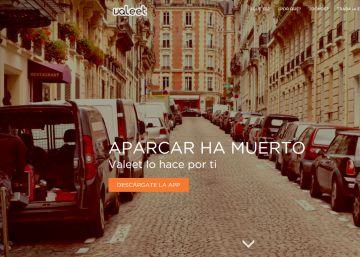 Aparcar con el móvil en la almendra central de Madrid
