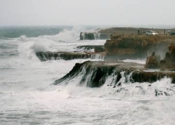 El temporal continúa en la costa mediterránea con cinco provincias en alerta naranja