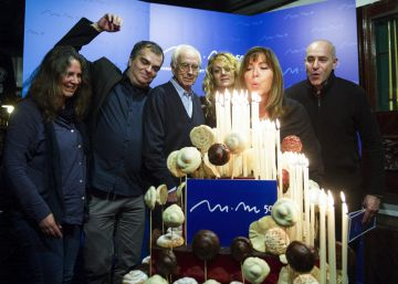 Maria del Mar Bonet, la voz del Mediterráneo, cumple 50 años de profesión