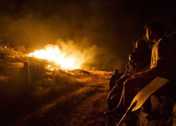 Detenido un ganadero en Galicia por quemar 800 hectáreas de una reserva ecológica