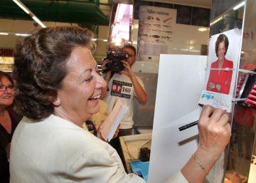 El juez investiga pagos de grandes empresas a campañas de Barberá