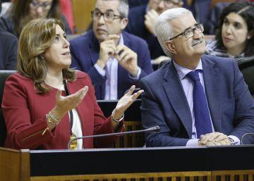 """Díaz exhibe el presupuesto andaluz como """"síntoma de estabilidad política"""""""