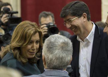El Parlamento aprueba el presupuesto con el respaldo de PSOE y Ciudadanos
