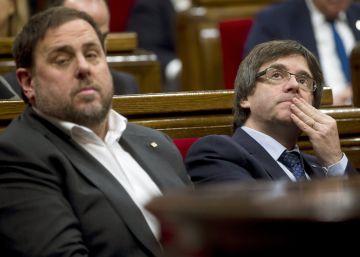 Puigdemont busca reafirmarse con la cumbre del referéndum