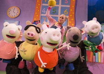 Sesión de baile y cante con Peppa Pigg y sus amigos