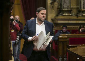 """Junqueras se compromete a la """"austeridad"""" con los inversores"""