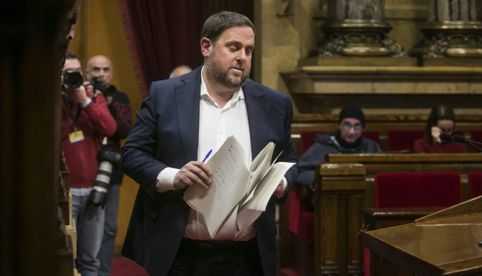 El vicepresidente de la Generalitat, Oriol Junqueras.