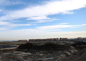 Seseña, paisaje después del incendio