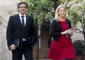 """La Generalitat expresa su """"solidaridad"""" con el arrestado"""