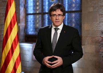 """Puigdemont promete para 2017 un referéndum """"legal y vinculante"""""""
