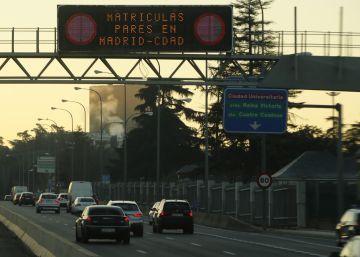 Madrid reducirá el sábado al nivel 1 el protocolo por contaminación