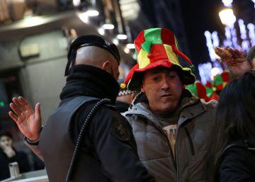 La policía vaciará la Puerta del Sol tres horas antes de las campanadas