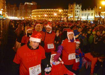 18.000 corredores participan en la San Silvestre de Valencia