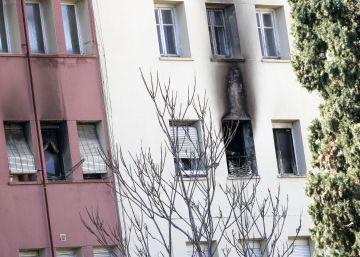 Muere al caer de un tercer piso tras incendiarse su casa en Valencia