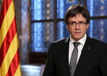 """Puigdemont llama al Gobierno a """"dejarse conducir por el diálogo"""""""
