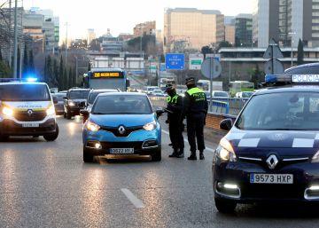 La Policía Municipal puso el jueves 1.200 multas por circular con matrícula par