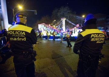 800 policías vigilarán la cabalgata de los Reyes Magos