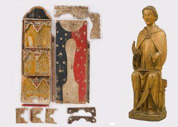 El primer retablo catalán