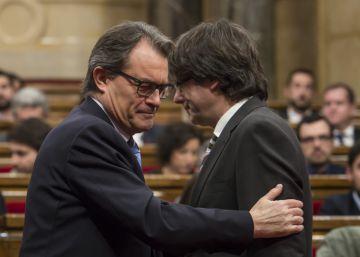 La negativa de Puigdemont a seguir pone a prueba a la nueva CDC