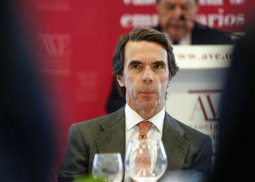 """Aznar: """"El Gobierno en minoría es un escenario poco propicio para reformas"""""""