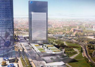 La torre Caleido de 36 plantas será el quinto rascacielos del norte de Madrid