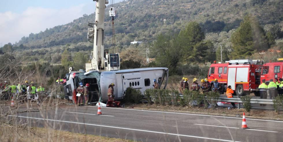 El juzgado reabre el accidente de Freginals y manda tomar declaración al chófer