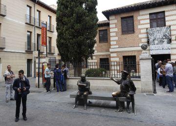 El vínculo entre Cervantes y Azaña se forjó en esta calle