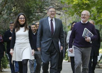 Puig, Oltra y Montiel firman la ampliación del Acuerdo del Botánico