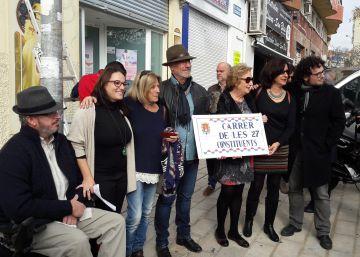 Una juez frena el cambio del callejero franquista en Alicante