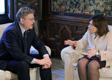 Puig recibe el apoyo del Parlamento valenciano para la Conferencia de Presidentes