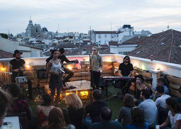 Un concierto secreto en la terraza