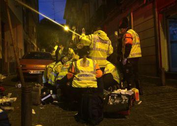 Un hombre muere tras recibir dos disparos en un bar de Madrid