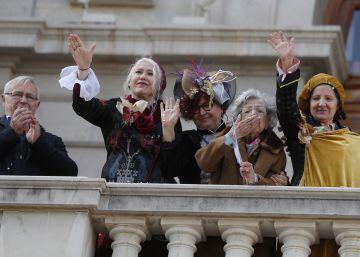 El alcalde de Valencia recibe a las reinas magas republicanas