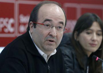 El PSC no aplaude ni critica el deseo de Patxi López de liderar el PSOE