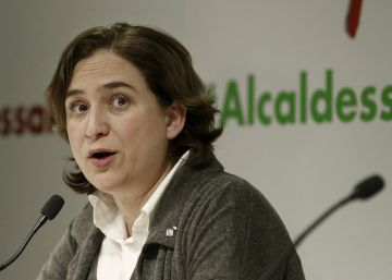 Colau lanza un plan para que la ciudad crezca hacia el Llobregat