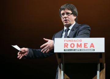 Puigdemont promete que este año llegará la independencia
