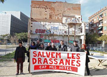 Los vecinos del futuro hotel de Drassanes denuncian que es ilegal