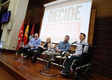 Carmena sube a 100 millones los presupuestos participativos de 2017