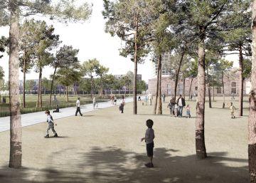 El nuevo parque de la plaza de las Glòries costará 42 millones