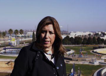 Susana Díaz anuncia una inversión de 35,8 millones en obras hidráulicas