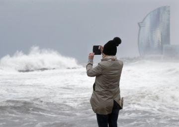 El temporal marítimo deja paso a una ola de frío tras arrasar la costa
