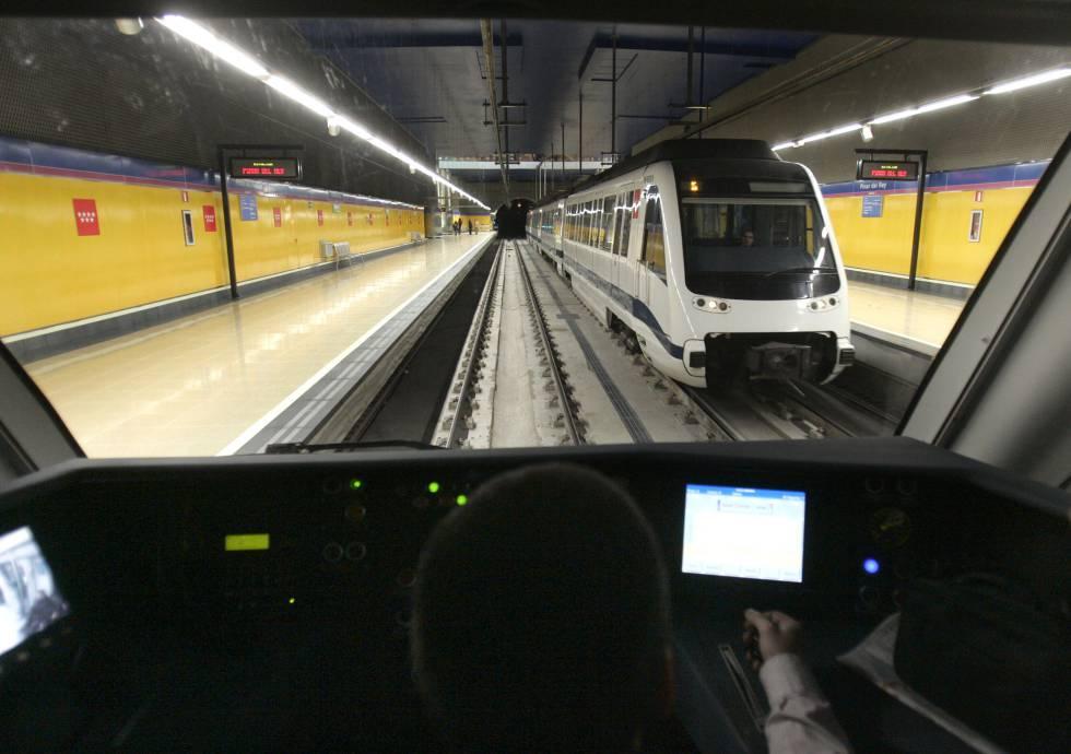 La l nea de metro del aeropuerto de madrid cierra hoy y - La maquinista metro ...